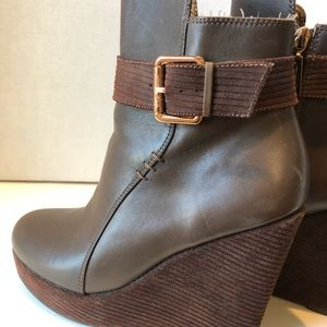 Matt Bernson Brown Corduroy Wedges